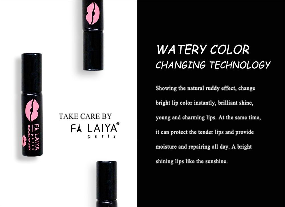FALAIYA】Fa Laiya Discolored Pink Lip Dew_Layered Lip Dew